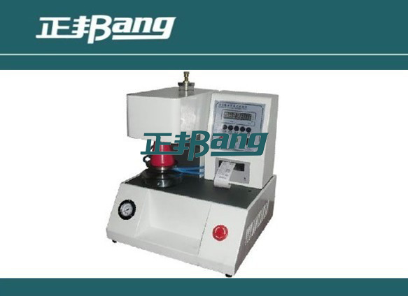 Automatic bursting strength testing machine