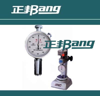 Sponge rubber hardness tester