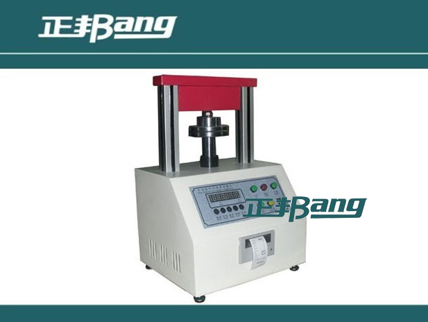 Micro ring crush / side compression strength testing machine