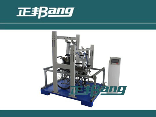 Wheelchair static load strength test machine